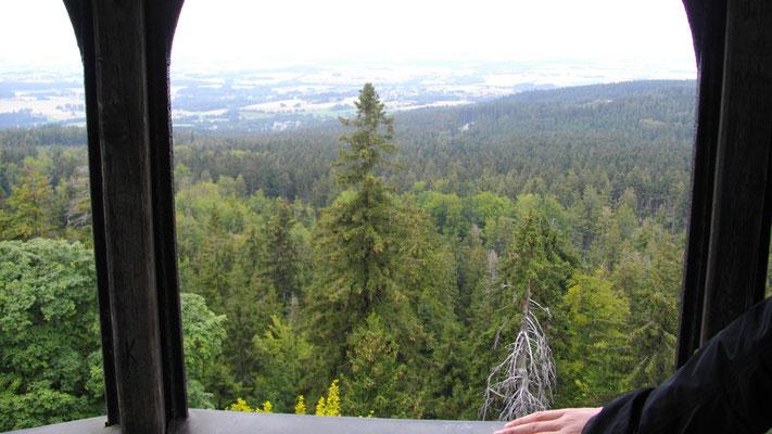 Aussicht vom Großen Waldstein