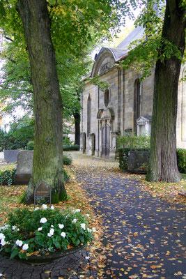 An der Gottesackerkirche vorbei ...