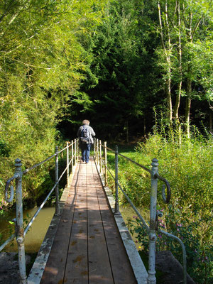 Brücke über den Roten Main