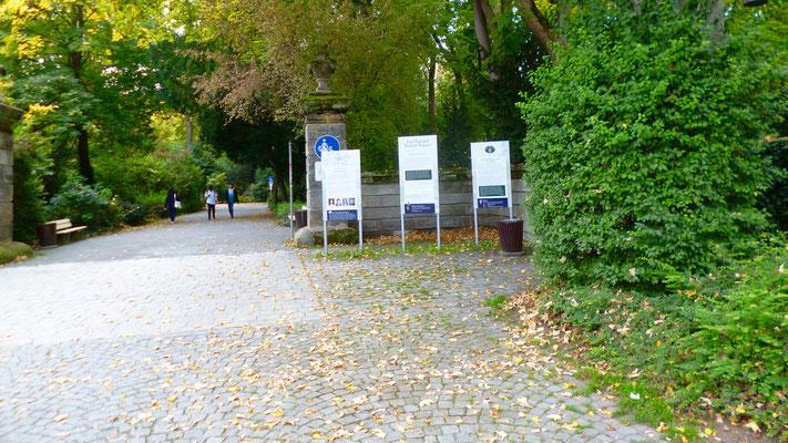 Groß und Sonderstation 119 »Jean Paul und Richard Wagner« am Hofgarten in Bayreuth