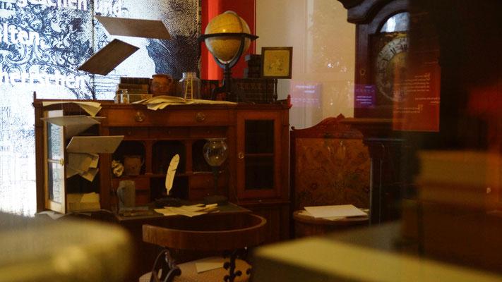 Die nachempfundene Schreibstube Jean Pauls