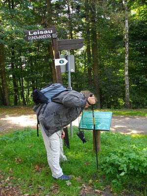Auf dem Jean-Paul-Weg vor Goldkronach – Stationstafel 92 »Sonnen-Hymnus«