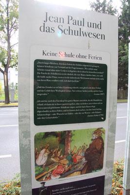 """Groß- und Sonderstation 116 """"Jean Paul und das Schulwesen"""""""
