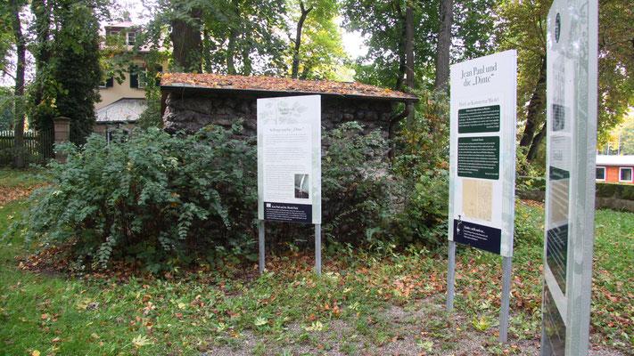 Auf dem Jean-Paul-Weg in Bayreuth – Groß- und Sonderstation 117  »Im Miedelpark«