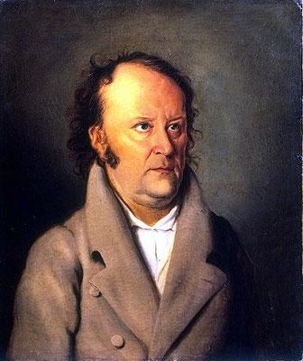 Jean Paul 1810 – Gemälde von Friedrich Meier