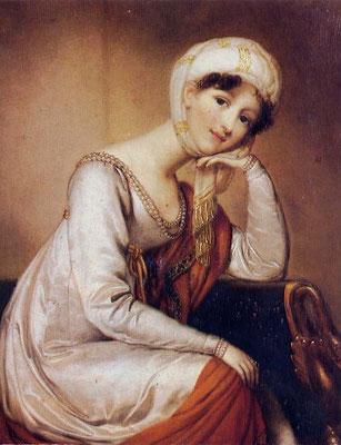 Dorothea von Kurland als junge Frau