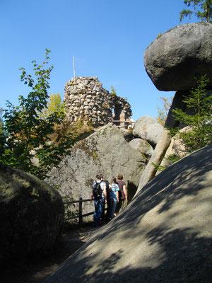 Die künstliche Ruine »Mariannenhöhe«