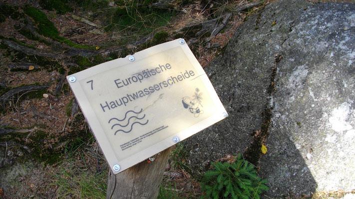 Europäische Hauptwasserscheide