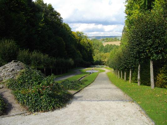Wasserkaskaden, Eremitage Bayreuth