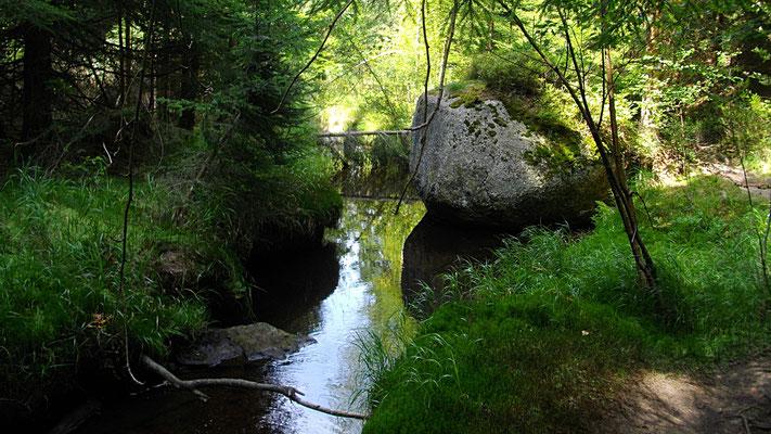 Märchenhafter Weg zwischen Karches und Bischofsgrün
