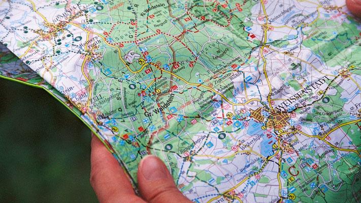Am Großen Waldstein – wo geht es zur Bushaltestelle?