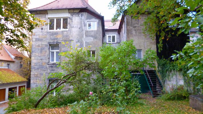Der Hofflügel des Hauses