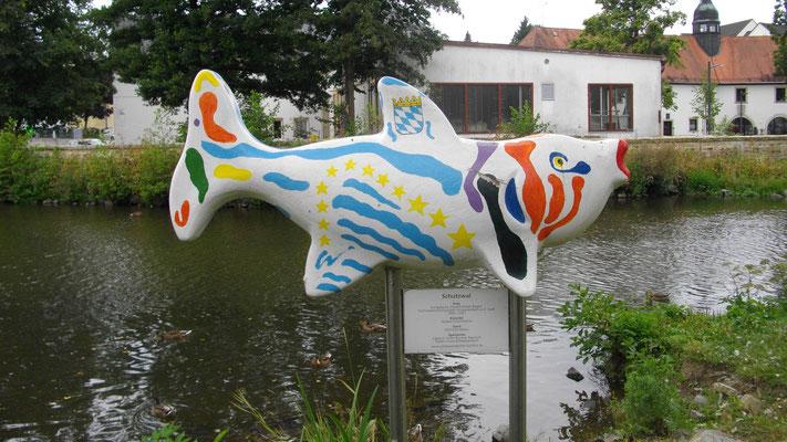 Kunstprojekt »Schwarzenbacher Fischflut«