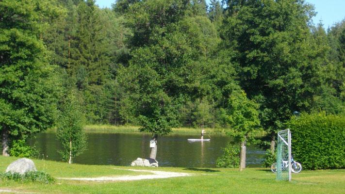 Stehpaddler am Nagler See