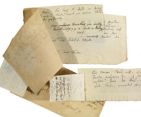 Briefe Jean Pauls an Emanuel (Staatsbibliothek Bamberg)
