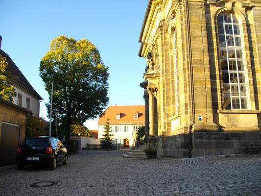 Kirchplatz in Bindlach