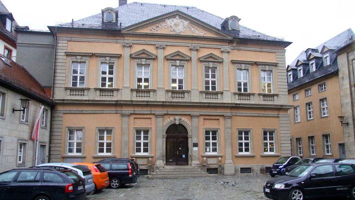 Das Harmonie-Gebäude - Ansicht aus dem Innenhof