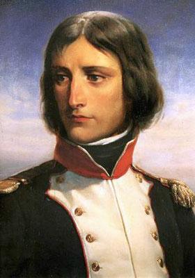 Napoleone Buonaparte als Oberstleutnant der korsischen Nationalgarde 1792