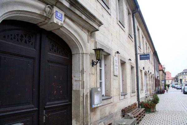 Friedrichstraße 10, hier wohnte Jean Paul von 1808 bis 1811