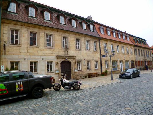 Bayreuth, Friedrichstraße 10. Hier wohnte Jean Paul von 1808 bis 1811.