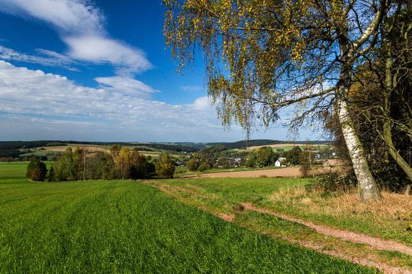 Blick nach Hormersdorf