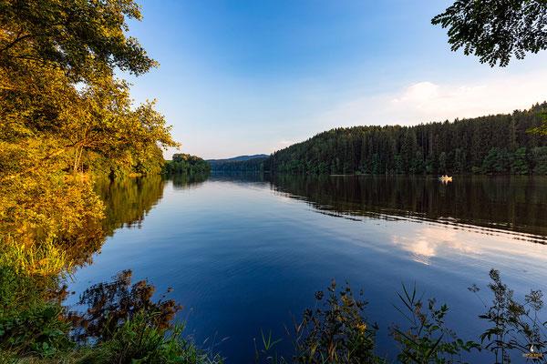 Abends am Blaibacher See