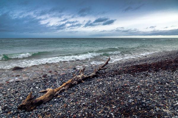 Die Ostsee am Kreidefelsen
