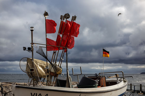 Fischerboot bei Vitt