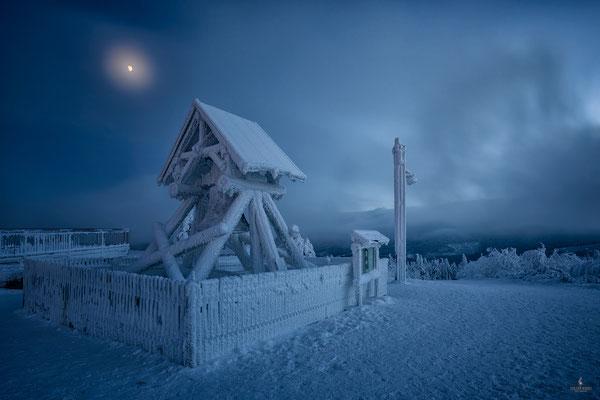 Friedensglocke auf dem Fichtelberg