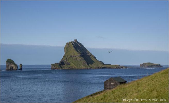 Blick auf die Insel Tindólmur