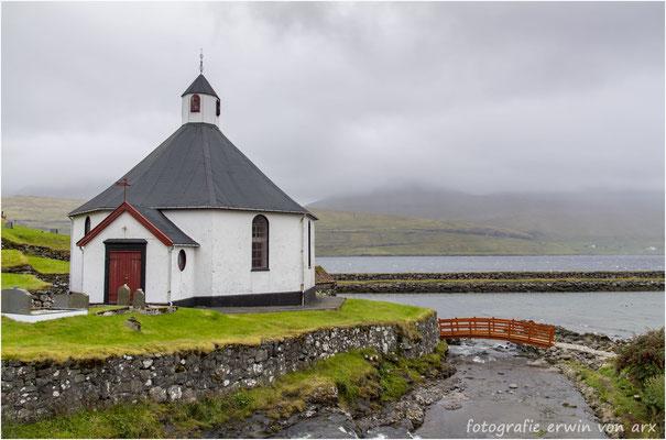 Die Kirche von Haldórsvik