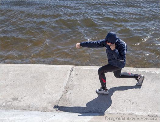 St. Petersburg. Der Schattenboxer