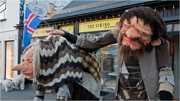 Island, ob die Einwanderer so ausgesehen hatten?