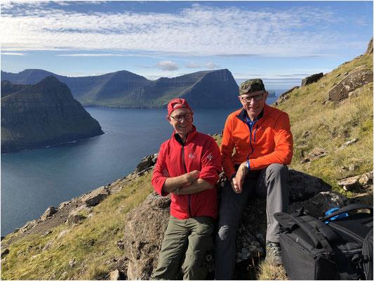 Im Aufstieg zum Villingadalsfjall, es ging aber nicht bis ganz oben