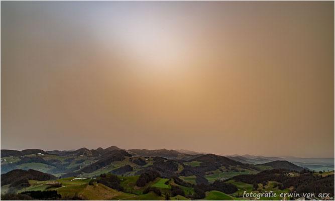Saharastaub Febr. 2021