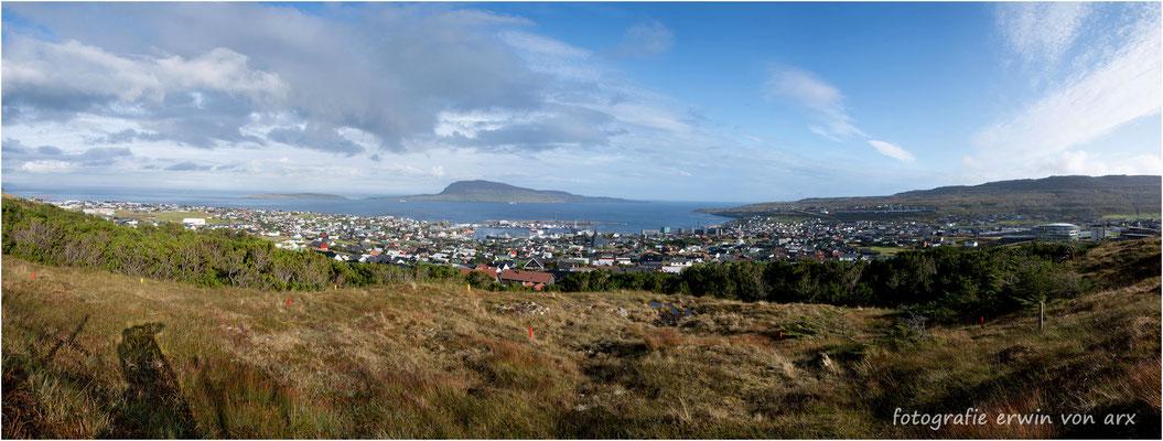 Panorama von Tórshavn
