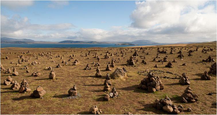 Island, auch da gibts Steinmännchen