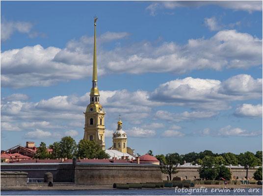 St. Petersburg. Peter und Paul-Kathedrale an der Newa