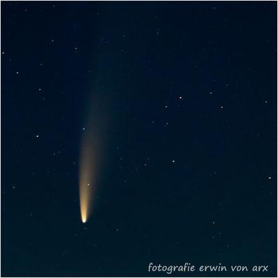 Der Komet Neowise (C/2020 F3) 12.07.2020/03:40-04:00