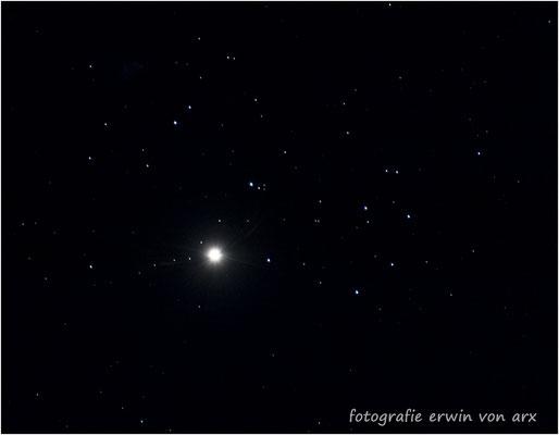 Venus beim Plejaden-Sternenhaufen, 03.04.2020, kommt nur alle 8 Jahre vor