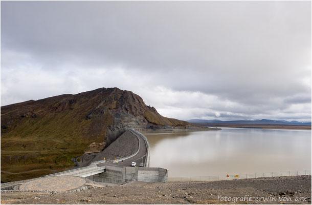 Karahnjukar dam, Halslon Stausee