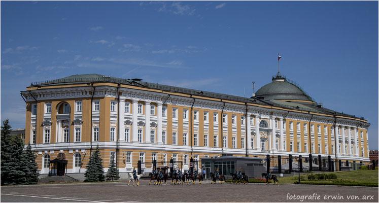 Moskau, Kremel. Senatspalast, Sitz des russischen Präsidenten