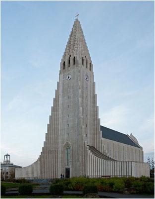 Island, Hallgrimskirkja von Reykjavik