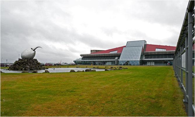 Island, Flughafen Keflavik