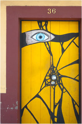 """Door Art"" in Funchal"