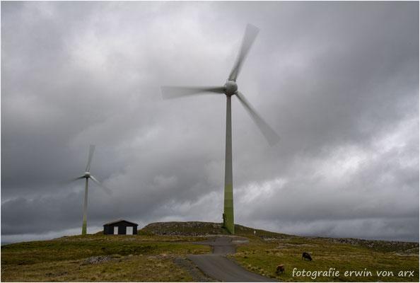 Eystness, kein Problem mit der Verfügbarkeit denn Wind gibt es ständig und genügend