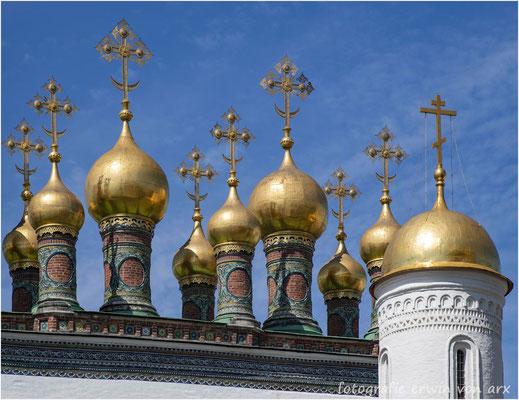 Moskau, Kremel. Mariä Gewandniederlegungskirche