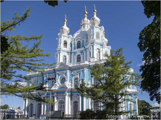 St. Petersburg. Smolny-Kathedrale