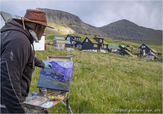 Begegnung mit dem Kunstmaler Pól Skardenni