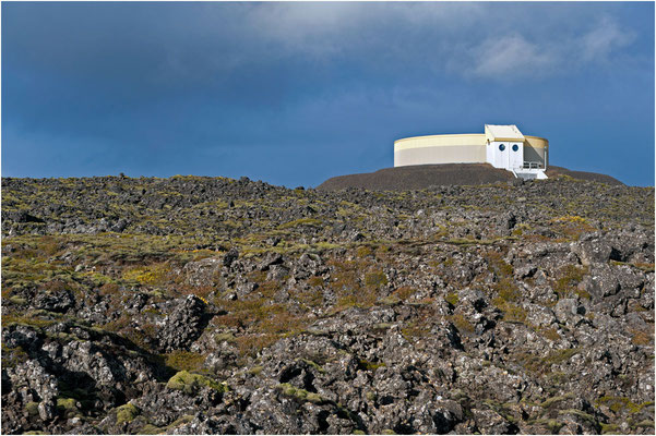 Island, auf Lavastein gebaut